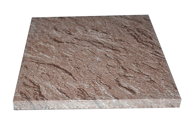 仿石纹蜂窝板